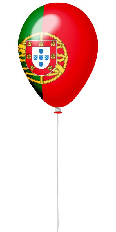 ポルトガル共和国の国旗-風せん