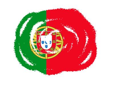 ポルトガル共和国の国旗-クラヨン2