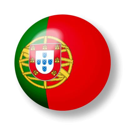 ポルトガル共和国の国旗-ビー玉