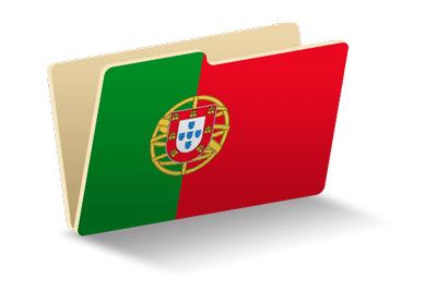 ポルトガル共和国の国旗-フォルダ