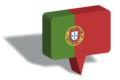 ポルトガル共和国の国旗-マップピン