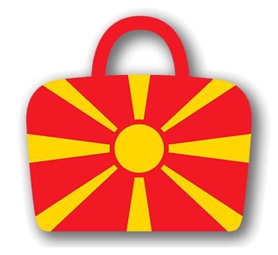 マケドニア旧ユーゴスラビア共和国の国旗-バッグ