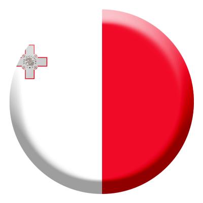 マルタ共和国の国旗-コイン