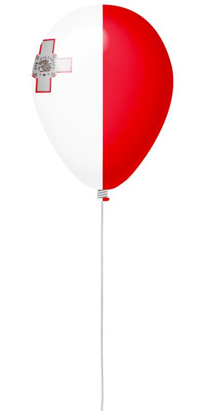 マルタ共和国の国旗-風せん