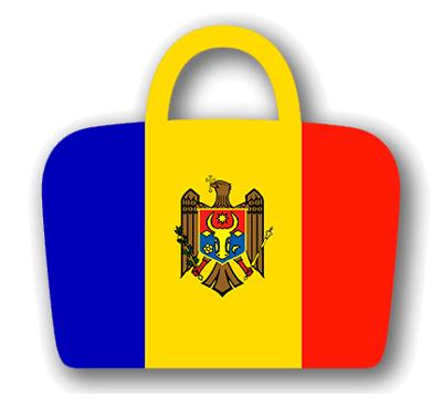 モルドバ共和国の国旗-バッグ