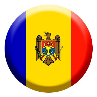 モルドバ共和国の国旗-コイン