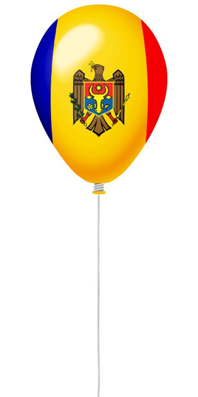 モルドバ共和国の国旗-風せん