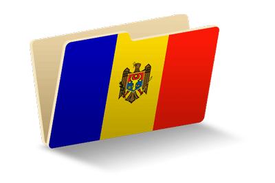 モルドバ共和国の国旗-フォルダ