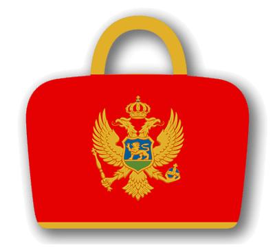 モンテネグロの国旗-バッグ