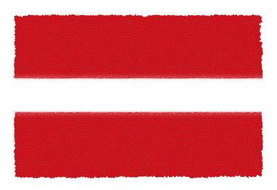 ラトビア共和国の国旗-パステル