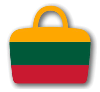 リトアニア共和国の国旗-バッグ