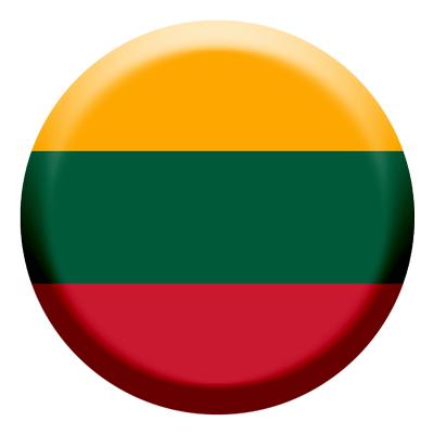 リトアニア共和国の国旗-コイン
