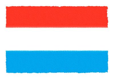 ルクセンブルク大公国の国旗-パステル