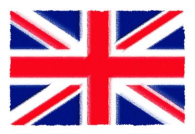 イギリスの国旗-パステル