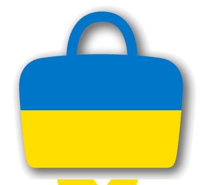 ウクライナの国旗-バッグ