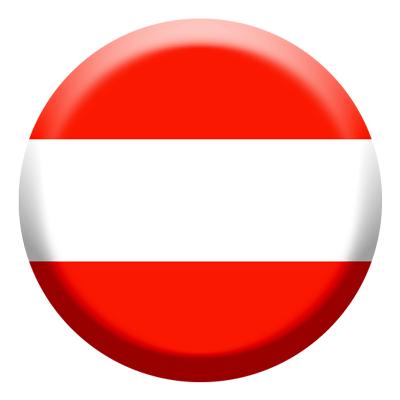 オーストリア共和国の国旗-コイン