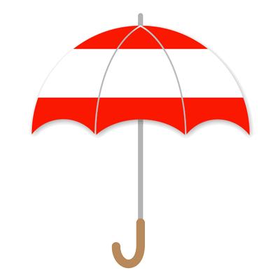 オーストリア共和国の国旗-傘