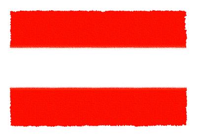 オーストリア共和国の国旗-パステル