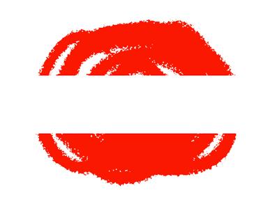 オーストリア共和国の国旗-クラヨン2