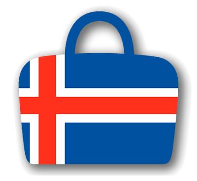 アイスランドの国旗-バッグ