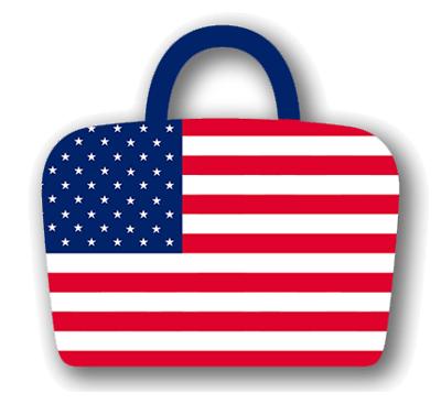 アメリカ合衆国の国旗-バッグ