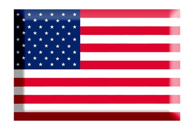 アメリカ合衆国の国旗-板チョコ