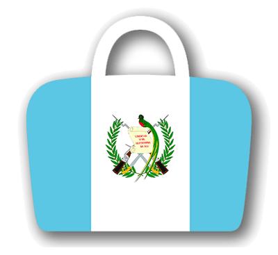 グアテマラ共和国の国旗-バッグ