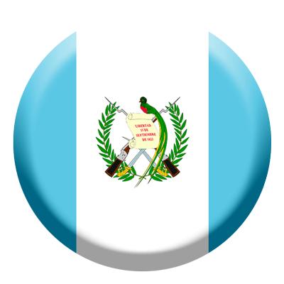 グアテマラ共和国の国旗-コイン