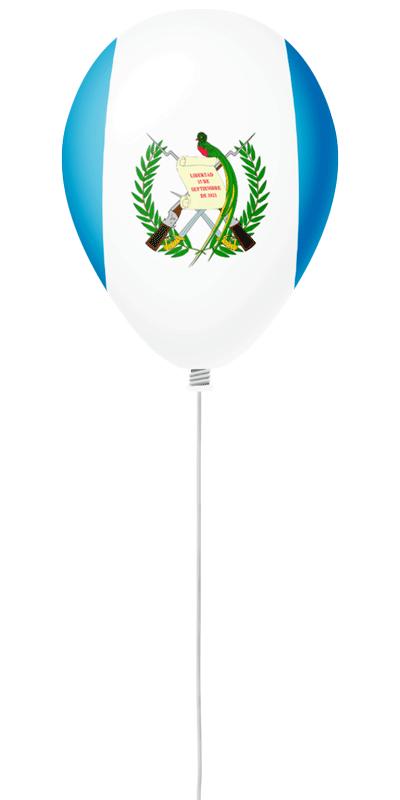 グアテマラ共和国の国旗-風せん