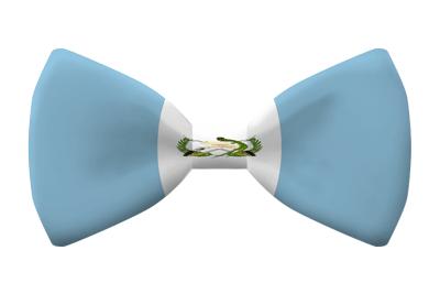 グアテマラ共和国の国旗-蝶タイ