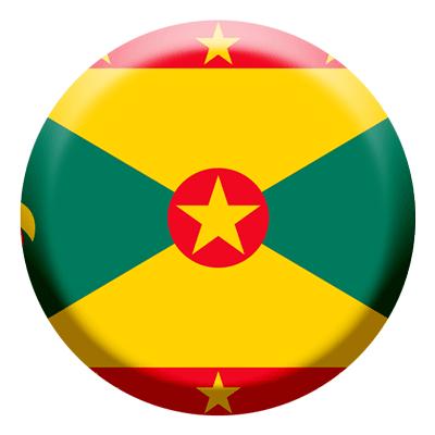グレナダの国旗-コイン