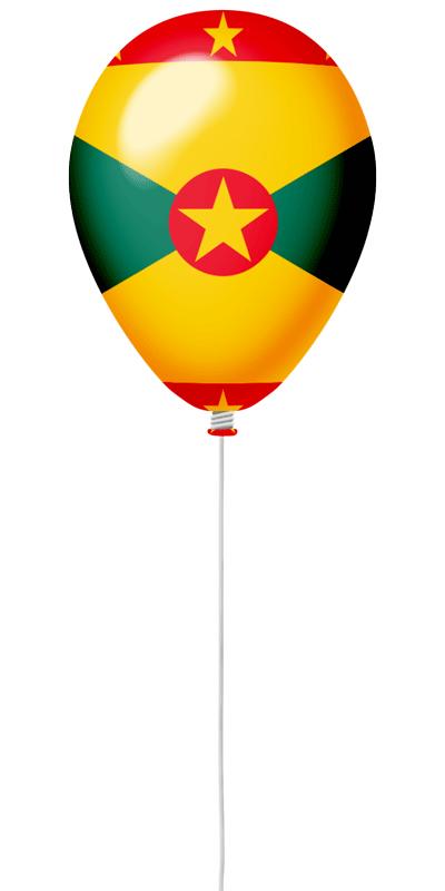 グレナダの国旗-風せん