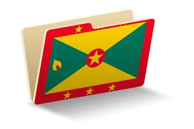グレナダの国旗-フォルダ