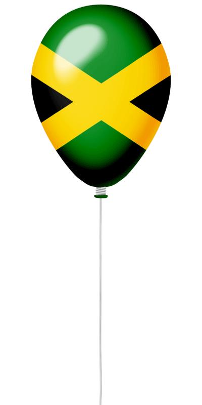 ジャマイカの国旗-風せん