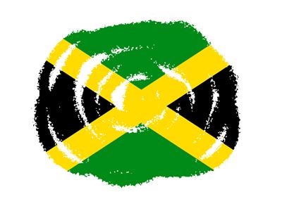 ジャマイカの国旗-クラヨン2