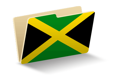 ジャマイカの国旗-フォルダ