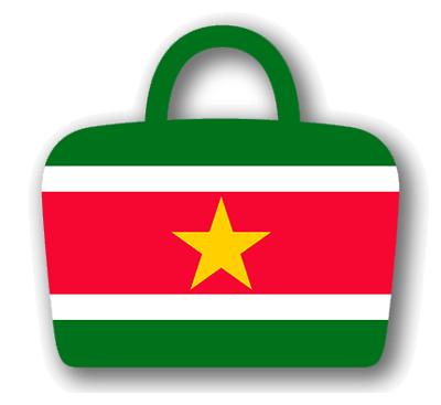 スリナム共和国の国旗-バッグ