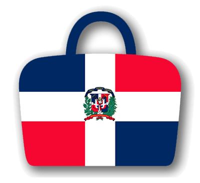 ドミニカ共和国の国旗-バッグ
