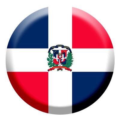 ドミニカ共和国の国旗-コイン