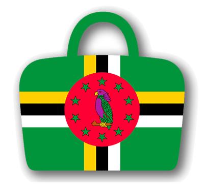 ドミニカ国の国旗-バッグ