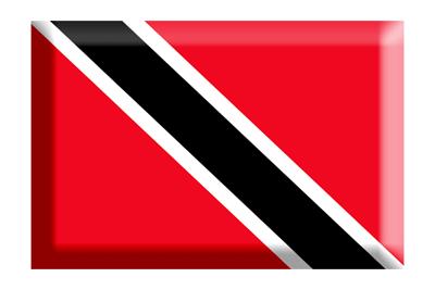 トリニダード・トバゴ共和国の国旗-板チョコ