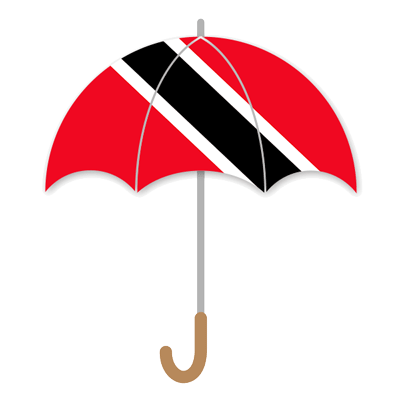 トリニダード・トバゴ共和国の国旗-傘