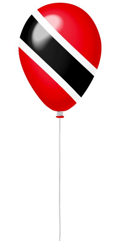 トリニダード・トバゴ共和国の国旗-風せん