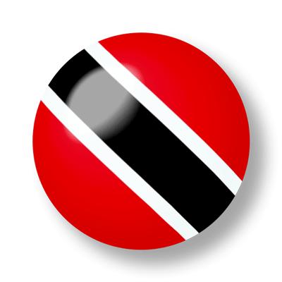 トリニダード・トバゴ共和国の国旗-ビー玉
