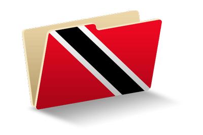 トリニダード・トバゴ共和国の国旗-フォルダ