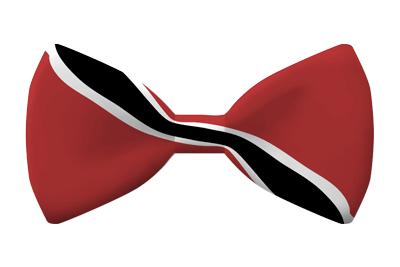 トリニダード・トバゴ共和国の国旗-蝶タイ