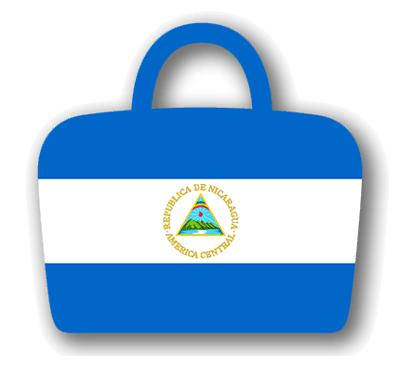 ニカラグア共和国の国旗-バッグ