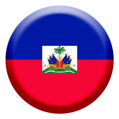 ハイチ共和国の国旗-コイン