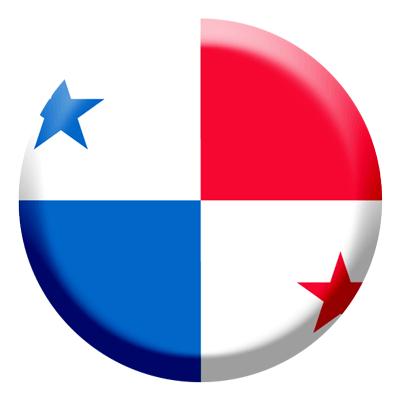 パナマ共和国の国旗-コイン
