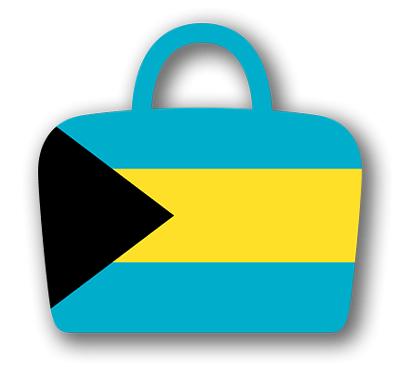 バハマ国の国旗-バッグ